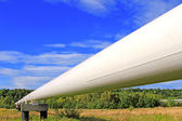 The high pressure pipeline. — Stock Photo