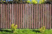 Natural fence wood planks background — Stok fotoğraf