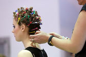 POZNAN - APRIL 27: Look Beauty Fashion Forum Poznan 2014. — Stock Photo