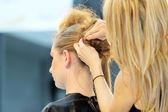 POZNAN - APRIL 27: Look Beauty Fashion Forum Poznan 2014. — Stock Photo