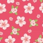 Seamless cherry blossom — Stock Vector #3579054