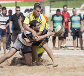 Rugby beach — Stock Photo