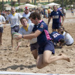 Bahia rugby touchdown — Stock Photo