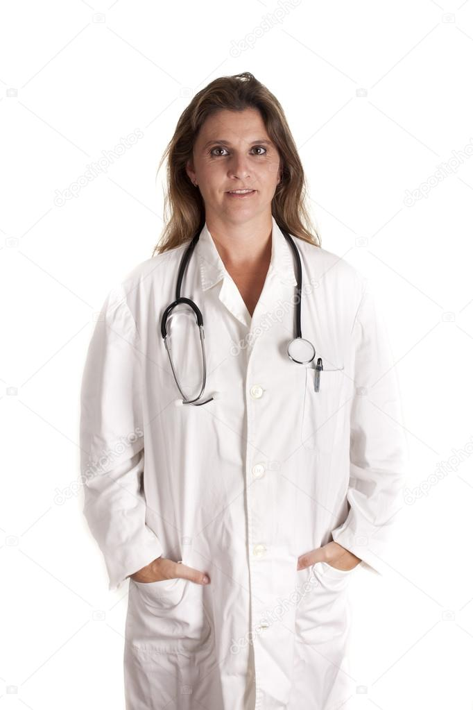 A young doctor ready to care for their patients — Stock Photo #12838420