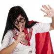 Silence nurse — Stock Photo