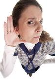 Deafness — Stock Photo
