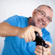 Play console man — Stock Photo #17370971
