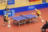 Campeonato europeu de ténis de mesa — Foto Stock