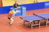 Jogo de tênis de mesa — Foto Stock