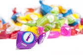 Cola de doces — Fotografia Stock