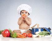 Baby tomato — Stock Photo