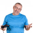 Play console man — Stock Photo #20878725
