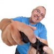 Play console man — Stock Photo #20878747