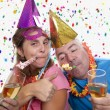 Party drunk — Stock Photo