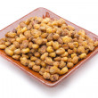 图库照片: Nuts snacks corn