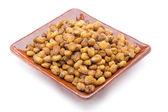 Nuts snacks corn — Stock Photo