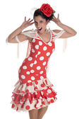 Flamenca andalusian — Stock Photo