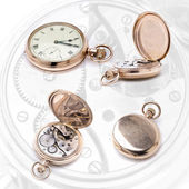 Pocket watch four — Stock Photo