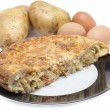 Spanish omelette food — Stock Photo