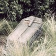 Stock Photo: Coffin hood