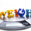 Weigh digital — Stock Photo