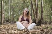 Belly pregnancy — Stockfoto