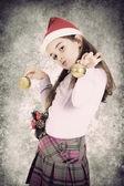 Christmas child — Stock Photo