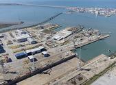 Puerto Real shipyard — Zdjęcie stockowe