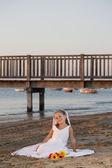 Bride girl — Stock Photo