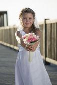 Mariée bouquet — Photo
