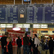 Sheremetyevo, timetable, cancellations — Stock Photo