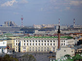 Palace Square from St Isaac Cathedral — Stock Photo