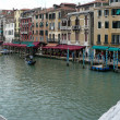 Grand Canal from Rialto Bridge — Stock Photo