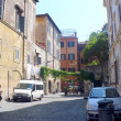 Narrow streets of RomareTrastevere — Stock Photo #28104011