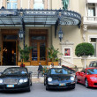 Постер, плакат: Monte Carlo Casino with luxurious cars