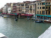 Grand Canal from Rialto Bridge — Stock Photo