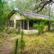 Old florida abandoned home — Stock Photo