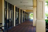 Zeile speichern fronten in florida — Stockfoto