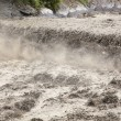 The river in flooding after heavy rains — Stock Photo #11154131