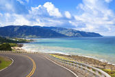 Coastline of kenting national park in taiwan — Stock Photo