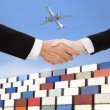 Стоковое фото: International business trade and transportation concept.business