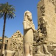 Luxor, Karnak temple in the egypt - Stock Photo