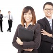 Asian success business — Stock Photo #4265169