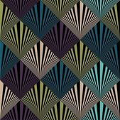 Seamless pop art background — Stock Vector