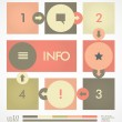 Stock Vector: Infographic design template