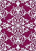 Seamless arabesque damask background — Stock Vector