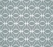 Vintage damask wallpaper — Cтоковый вектор