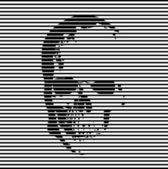 头骨背景 — 图库矢量图片