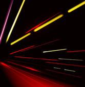Traffic and street lights background — Stok Vektör
