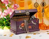 Kist voor bijouterie — Stockfoto